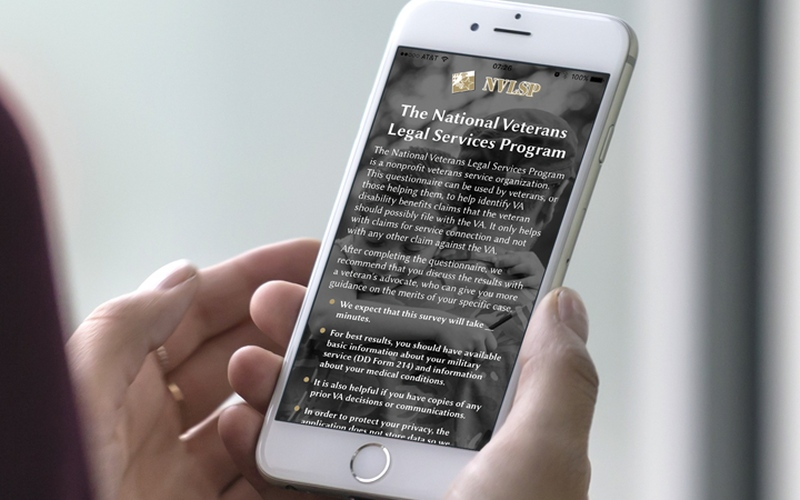 Free mobile and web-based app assists military veterans - South